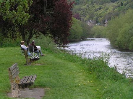 dean lake: River Wye