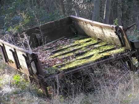 dean lake: Disused Cart