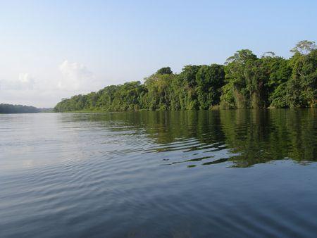 Canal vicino Tortuguero, Costa Rica