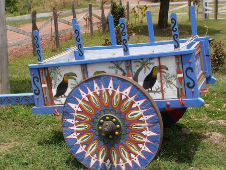 Ox Cart, Costa Rica photo