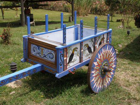 buey: Carro Ox, Costa Rica