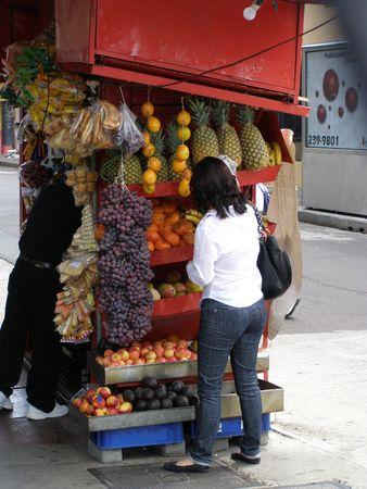 jose: Fruit stall, San Jose, Costa Rica