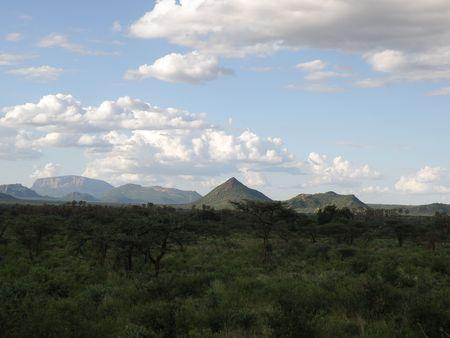 aberdares: Kenya Safari, Samburu Stock Photo