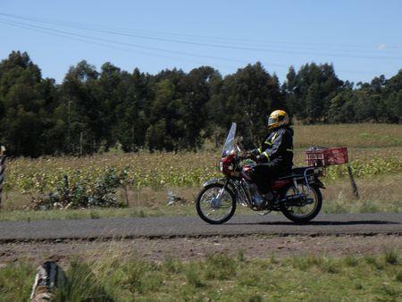 aberdares: Motorbike, Kenya