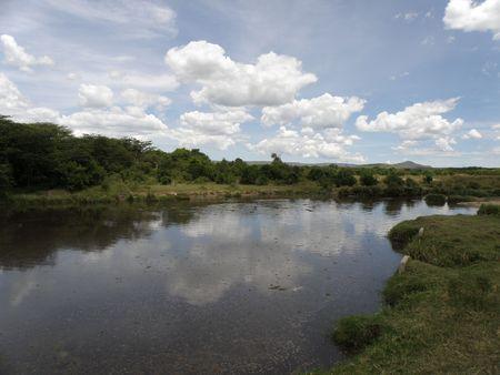 aberdares: Kenya Safari, Hippo Pool in Masai Mara