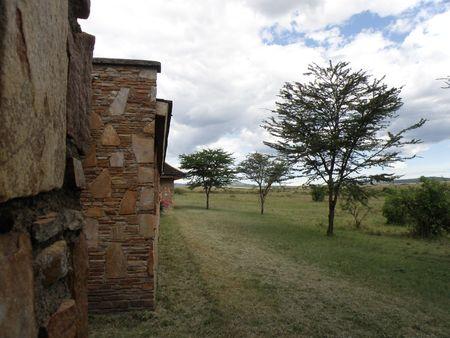 predetor: Kenya Safari Lodge nel Masai Mara Archivio Fotografico