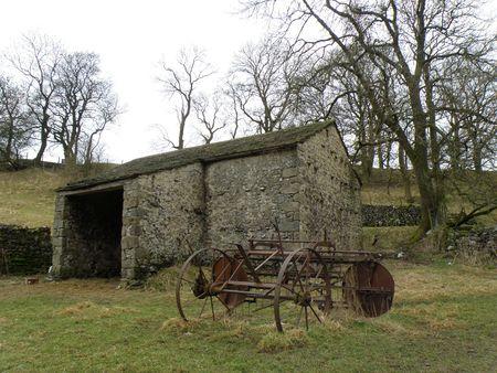 yorkshire dales: Plough y granero en el Yorkshire Dales