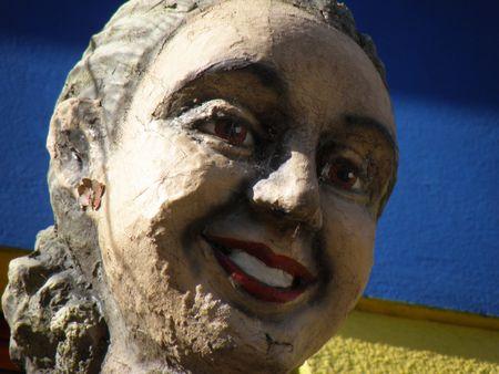evita: Evita Peron StatueCartoon
