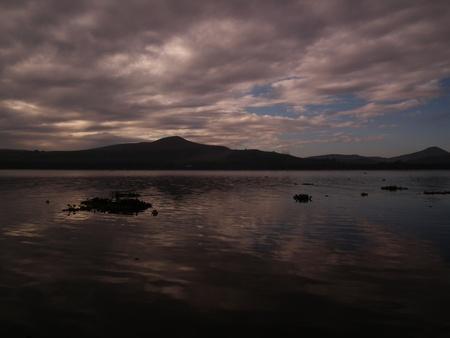 lake naivasha: Sunrise over lake Naivasha