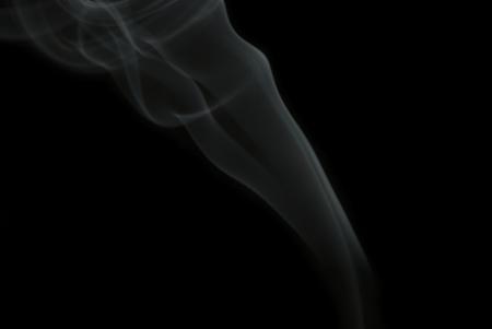 Sensitive incense smoke Stock Photo - 18233573