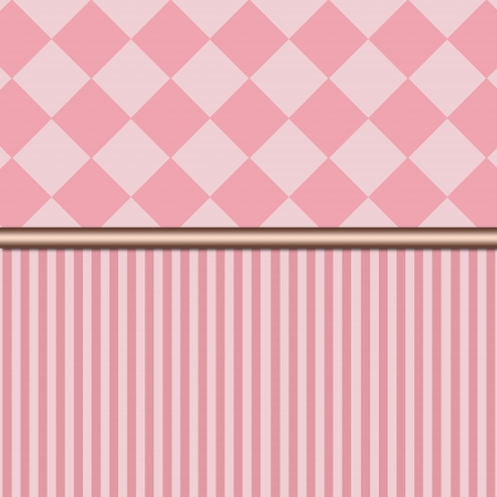Red retro or vintage striped wall background Stock Photo - 23101617