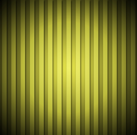 Yellow striped retro background or texture photo