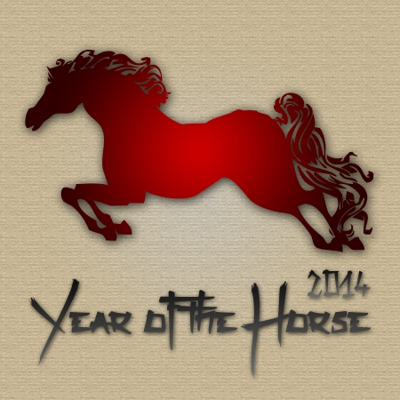 Graphic design Horse Year in China related photo