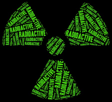 harmful to the environment: Word cloud radioactivity or chemical waste related