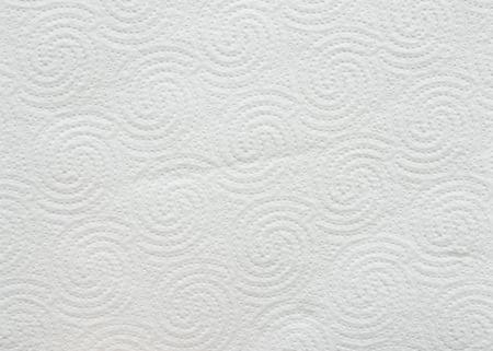 White toilet paper background or texture photo