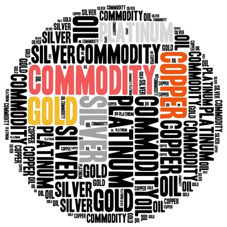 brent crude: Commodity stock market or trading concept. Word cloud illustration.