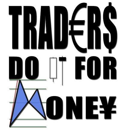 Traders do it for money Stock Photo