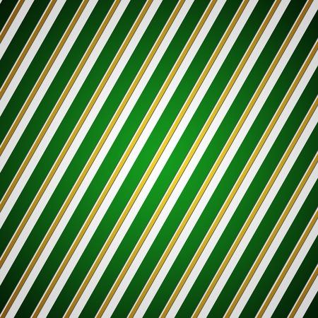 navidad elegante: Fondo rayado verde y oro elegante o la textura