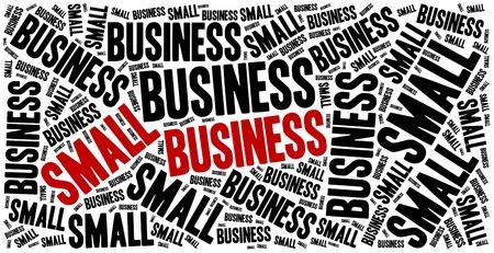 entrepreneurship: Small business. Word cloud illustration entrepreneurship related.