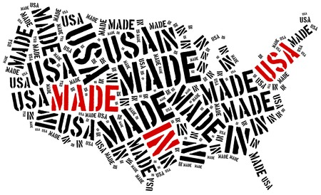 manufactured: Made in USA. Label on manufactured product.