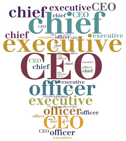 CEO. Chief executive officer. Corporate business concept.