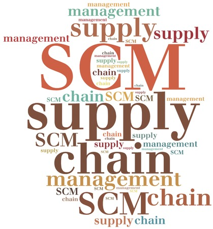 scm: SCM. Supply chain management. Business abbreviation.