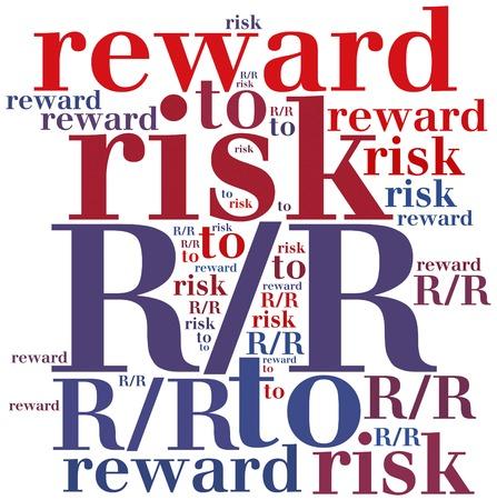 abbreviation: RR. Risk to reward ratio. Business abbreviation. Stock Photo