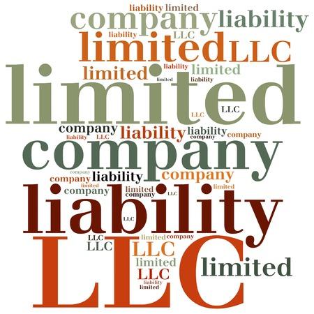 LLC. Limited liability company. Business abbreviation.