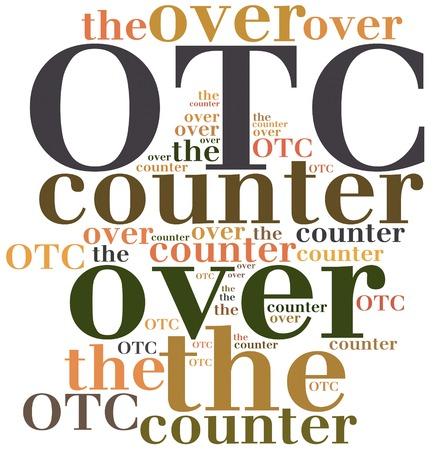abbreviation: OTC. Over the counter. Business abbreviation.
