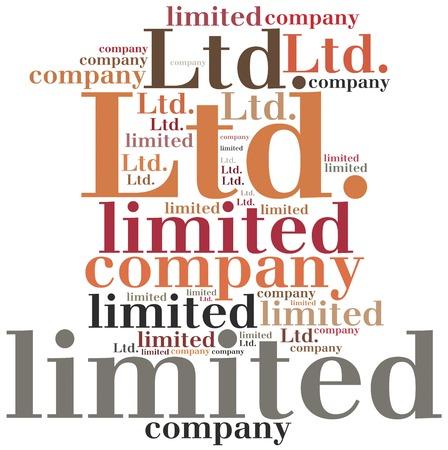 LTD. Limited company. Business abbreviation.