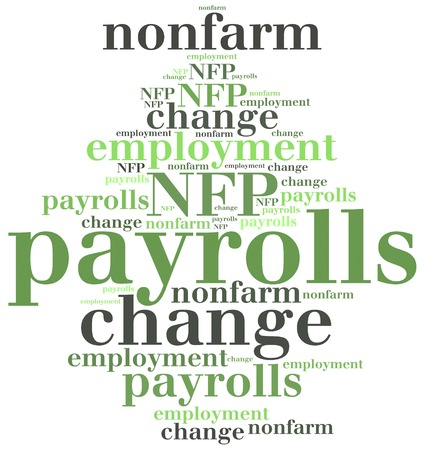 macroeconomic: Non-farm employment change, payrolls or NFP. One of the most important macroeconomic indicator from US job market, released monthly.