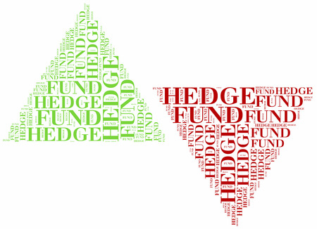 hedge: Hedge fund. Financial concept.