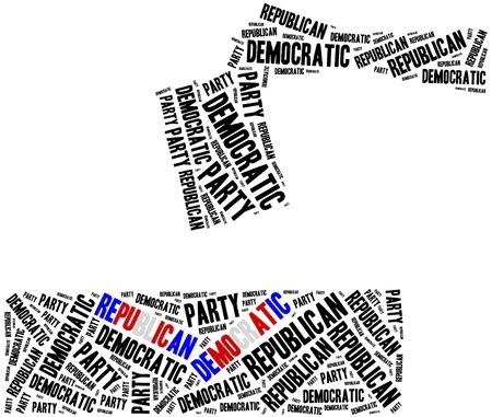 Algemene verkiezingen of stemmen in de VS.
