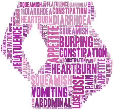 reflux: Pregnancy symptoms - heartburn, vomiting, flatulence and other.