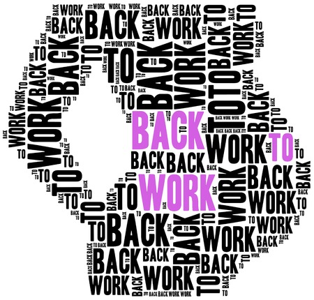 maternity leave: Young mother or pregnant woman rights in work.