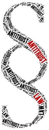 antitrust: Antitrust law. Concept related to different areas of law.