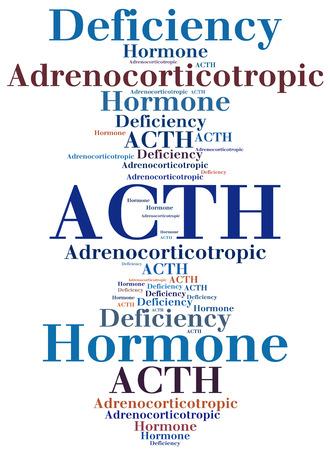 ACTH - Adrenocorticotropic hormone deficiency. Disease abbreviation.