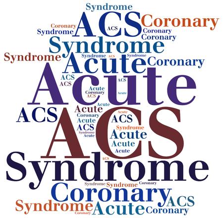 ACS - Acute Coronary Syndrome. Disease abbreviation.