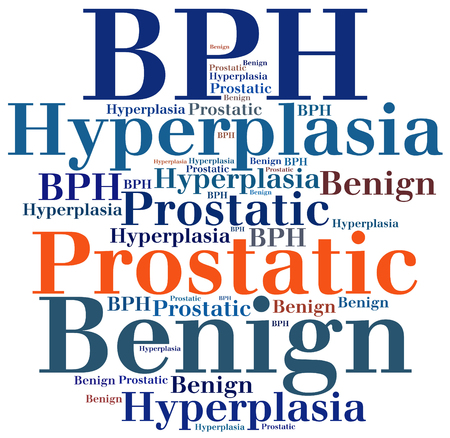 prostatic: BPH - Benign Prostatic Hyperplasia. Disease abbreviation.