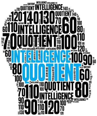 iq: IQ or intelligence quotient concept