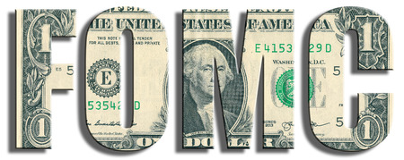us paper currency: FOMC - Federal Open Market Comittee. US Dollar texture.