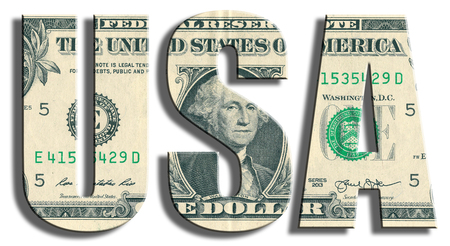 us paper currency: USA - United States of America. US Dollar texture.
