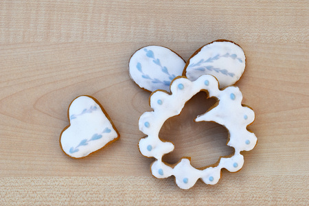 Homemade Easter gingerbreads