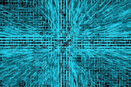 Fractal image an abstract background representation of future technology.