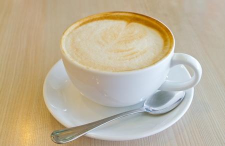 cappuccino: Caf� fin Banque d'images