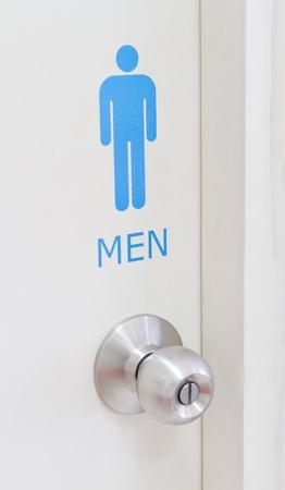 toilet door: men toilet door