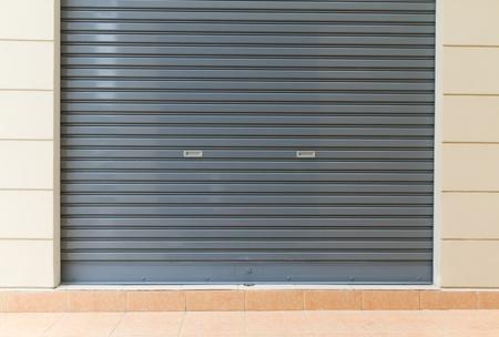 shutter door - metal sheet