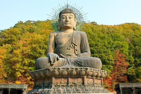 Corea del tempio in soraksan parco nazionale
