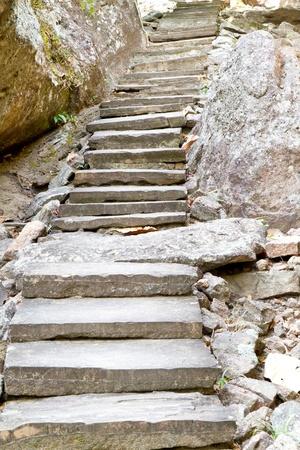 Stone ladder photo