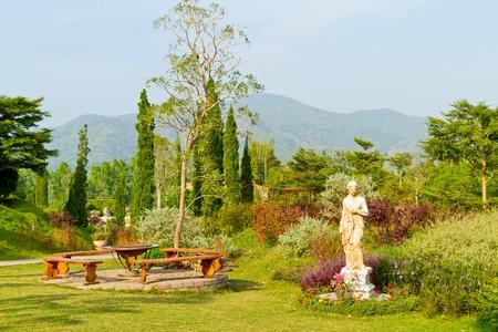 clam gardens: beautiful garden